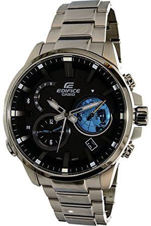 Casio Men's Analogue Quartz Watch with Stainless Steel Bracelet EQB-600D-1A2ER