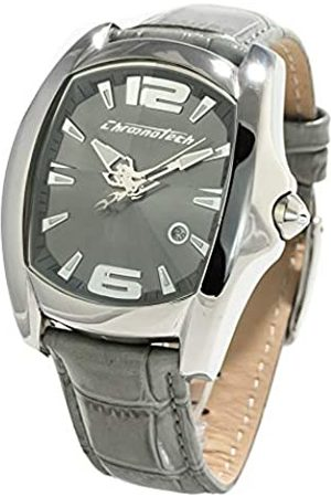 Chronotech Mens Analogue Quartz Watch with Stainless Steel Strap CT7107M-08