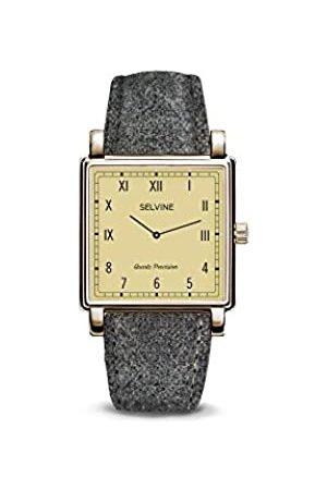 Selvine Womens Analogue Quartz Watch with Stainless Steel Strap SCHE11