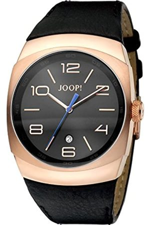 JOOP! Joop Gents 3Hd Men's Quartz Watch with Dial Analogue Display and Leather Strap JP100681F01