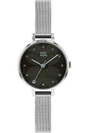 Orla Kiely Womens Analogue Classic Quartz Watch with Stainless Steel Strap OK4063