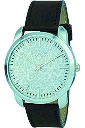 Snooz Men's Analogue Quartz Watch with Leather Strap Saa0044-63