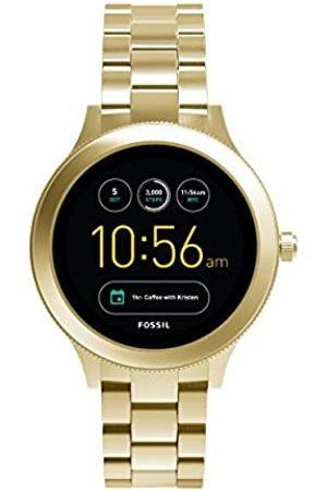 Fossil Q Venture Unisex Smartwatch Gen.3 - Gold-Tone Stainless Steel Case and Bracelet - Compatible Android and iOS