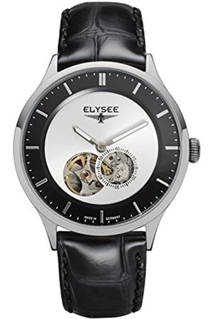 ELYSEE Unisex Adult Analogue Automatic Watch with Leather Strap 15101