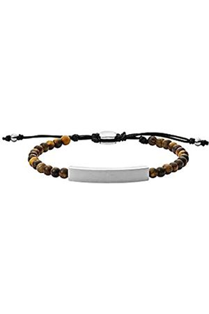Fossil Men Stainless Steel ID Bracelet JF03176040