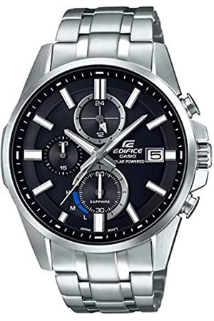 Casio Mens Chronograph Quartz Watch with Stainless Steel Strap EFB-560SBD-1AVUER