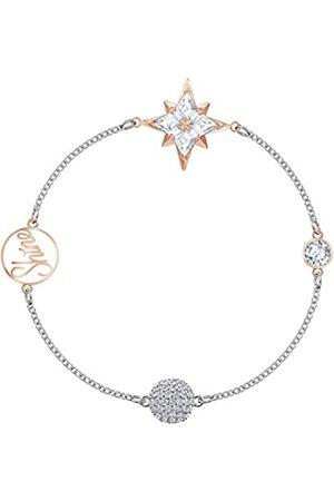 Swarovski Women Bracelets - Women's Mixed Metal Finish Plated Multicoloured Crystal Remix Collection Star Strand Bracelet 5494886