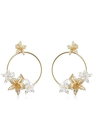 MISIS Marisol Women's Earrings 925 Silver Rose Gold Plated Cubic Zirconia
