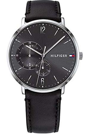 Tommy Hilfiger Mens Multi dial Quartz Watch with Leather Strap 1791509