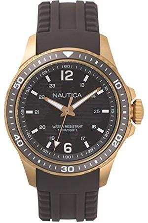 Nautica Men's Analogue Quartz Watch with Silicone Strap NAPFRB004