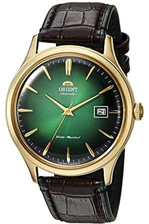 Orient Mens Analogue Automatic Watch with Leather Strap FAC08002F0
