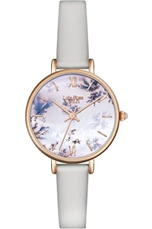 Lola Rose Women's Quartz Watch with Dial Analogue Display and Leather Strap LR2042