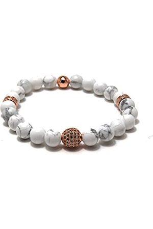 Von Lukacs Men Tiger's Eye Stretch Bracelet SHMRGWH8L
