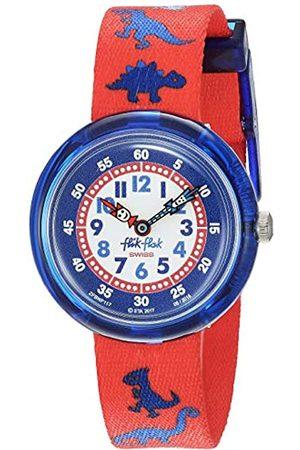 Flik Flak Boys Analogue Quartz Watch with Textile Strap ZFBNP117