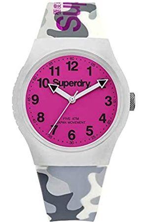 Superdry Men Analogue Quartz Watch with Silicone Strap SYG164EP