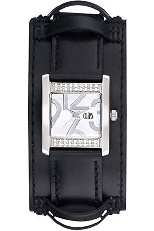 CLIPS Women's Quartz Watch 553-1007-84 with Leather Strap
