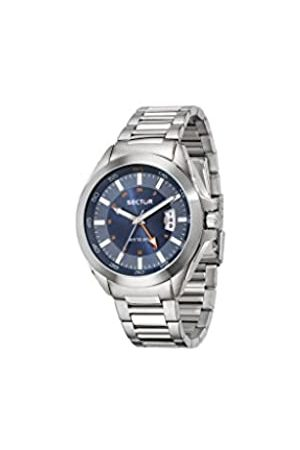 Sector No Limits Men's Analogue Quartz Watch with Stainless Steel Strap R3253587001