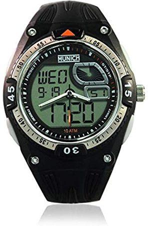 Munich Unisex Adult Digital Quartz Watch with PU Strap MU+117.1A