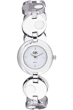CLIPS Women's Quartz Watch 553-2007-18 with Metal Strap