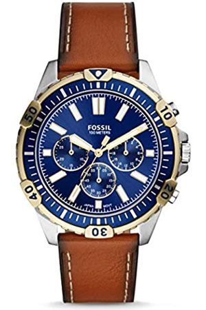 Fossil Quartz Watch with Leather Strap FS5625