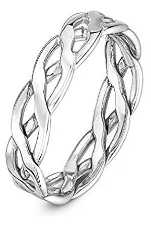 THEIA Unisex 9 ct , 5 mm Celtic Wedding Ring