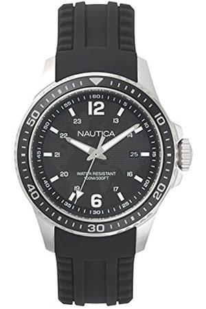 Nautica Men's Analogue Quartz Watch with Silicone Strap NAPFRB001