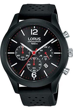Lorus Mens Analogue Quartz Watch with Silicone Strap RT349HX9