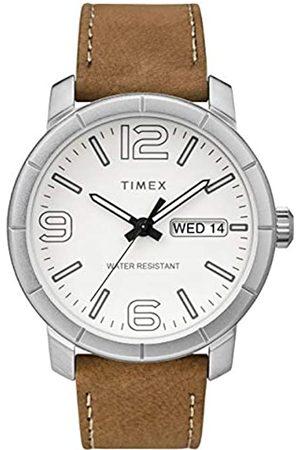 Timex Men's Mod44 44 mm Leather Strap Watch TW2R64100