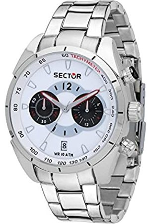 Sector Men's Chronograph Quartz Watch with Stainless Steel Strap R3273794004
