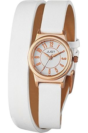 Just Watches Ladies Watch XS Analogue Quartz 48–LEATHER-S4062 Rgd-WH