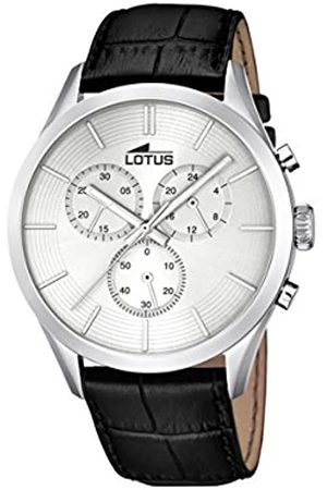Lotus Men's Quartz Watch with Dial Chronograph Display and Leather Strap 18119/1