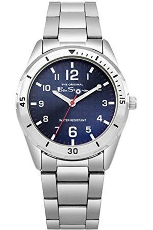 Ben Sherman Boys Analogue Quartz Watch with Stainless Steel Strap BSK002USM G