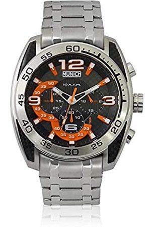 Munich Unisex Adult Analogue Quartz Watch with Stainless Steel Strap MU+135.1C