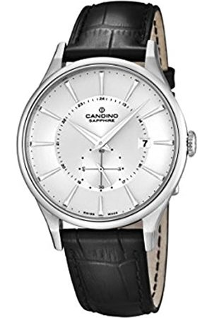Candino Men's Quartz Watch with Dial Analogue Display and Leather Strap C4558/1