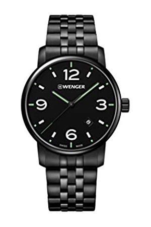 Wenger Unisex Analogue Quartz Watch with Stainless Steel Strap 01.1741.119