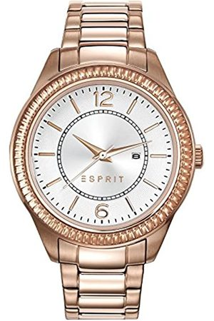 Esprit TP10885 Women's Quartz Watch with Silver Dial Analogue Display and Rose Stainless Steel Bracelet ES108852003