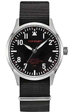 Pop-Pilot JFK POP Pilot Unisex Quartz Watch with Analogue Quartz Nylon P4260362630055