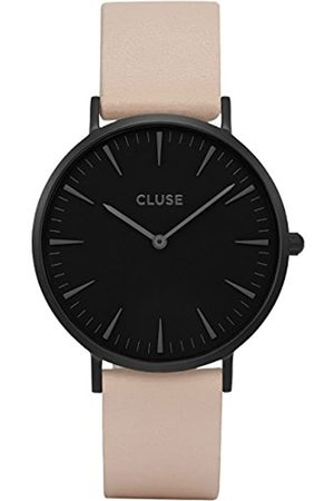 Cluse Womens Analogue Classic Quartz Watch with Leather Strap CL18503