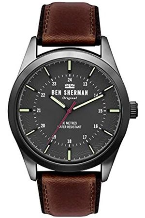 Ben Sherman Mens Analogue Classic Quartz Watch with Leather Strap WB027TB
