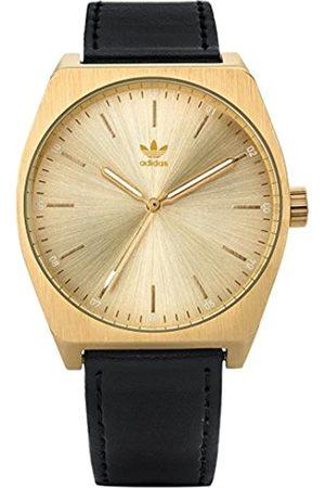 adidas Women's Analogue Quartz Watch with Leather Strap Z05-510-00