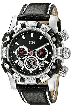 Carlo Monti Arezzo Men's Quartz Watch with Dial Chronograph Display and Leather Strap CM122-122