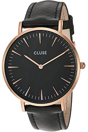 Cluse Womens Analogue Classic Quartz Connected Wrist Watch with Leather Strap CL18001
