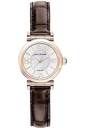 Saint Honore Women's Analogue Quartz Watch with Leather Strap 7220118YRR