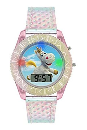 Disney Toy Story Girl's Digital Quartz Watch with Plastic Strap TYM4000ARG