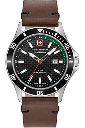 Swiss Military Hanowa Unisex Adult Analogue Quartz Watch with Stainless Steel Strap 06-4161.2.04.007.06