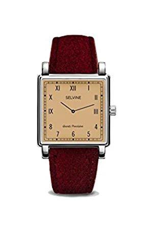 Selvine Womens Analogue Quartz Watch with Stainless Steel Strap SCHE5
