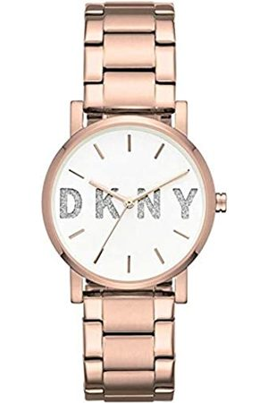 DKNY Womens Analogue Quartz Watch with Stainless Steel Strap NY2654