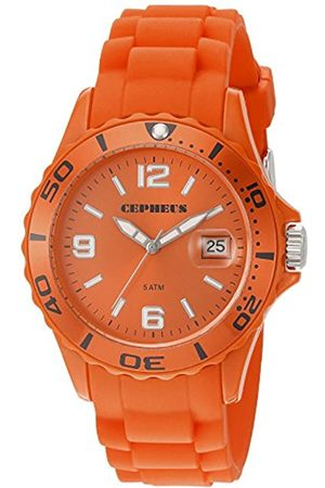 CEPHEUS Women's Quartz Watch with Dial Analogue Display and Silicone Strap CP603-090E
