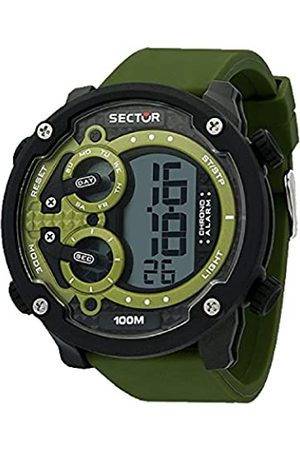 Sector Mens Digital Watch with Silicone Strap R3251571003