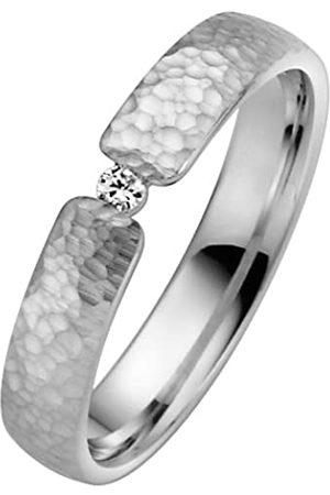 Trauringe Liebe hoch zwei Liebe2 04004811253150 Women's Wedding Ring - 8-Carat 333/1000 White Gold with Diamonds